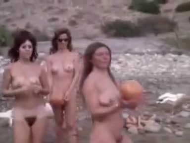 Vintage Nudist Movie - The Raw Ones (1965)