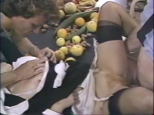Fabulous classic scene with Jean-Luc Brunet and Sabina Karen
