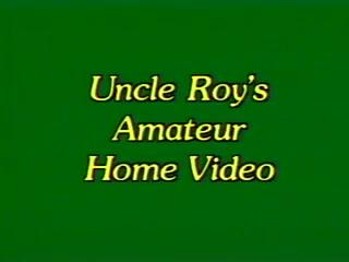 man Roy's Amateur Home Video 1