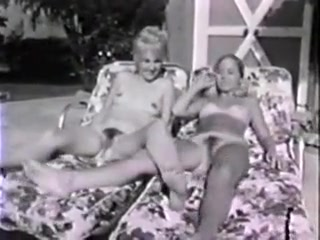Two Girls at a Pool
